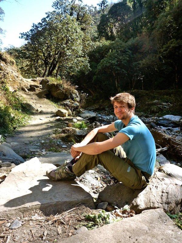 Adrian in Nepal