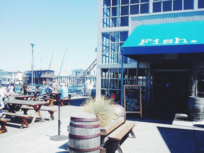 Fish, Sausalito, CA